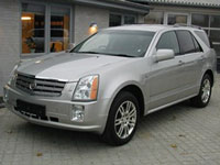occasion Cadillac SRX voitures