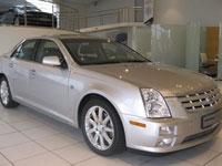 käytetty Cadillac STS auton