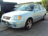 begagnade Hyundai Accent bilar