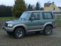 second-hand Hyundai Galloper mașini