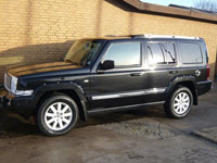 begagnade Jeep Commander bilar