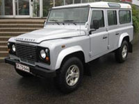 begagnade Land Rover Defender bilar