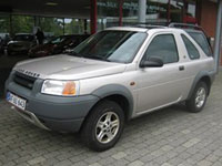second-hand Land Rover Freelander mașini