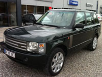 begagnade Land Rover Range Rover bilar