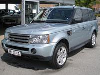 begagnade Land Rover Range Rover sport bilar