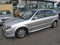 brugte Mazda 323F biler