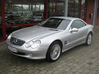 begagnade Mercedes SL-Class bilar