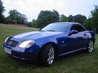 begagnade Mercedes SLK-Class bilar