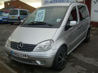 used Mercedes Vaneo cars