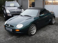 used MG F cars