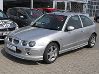 used MG ZR cars