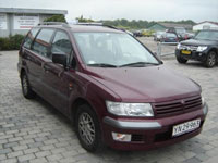 begagnade Mitsubishi Space Wagon bilar