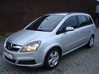 used Opel Zafira cars