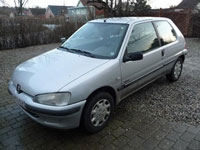 begagnade Peugeot 106 bilar