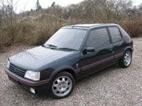 begagnade Peugeot 205 bilar