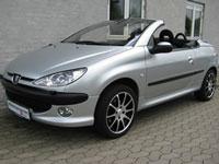 używane Peugeot 206 CC samochody