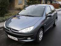 usados Peugeot 206 coches