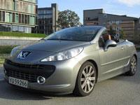 używane Peugeot 207 CC samochody