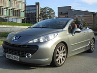 usate Peugeot 207 CC auto