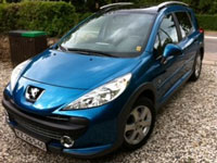 begagnade Peugeot 207 Outdoor bilar