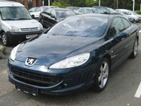 used Peugeot 407 Coupe cars