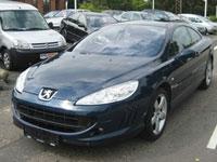 usate Peugeot 407 Coupe auto