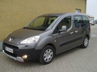 used Peugeot Partner Tepee cars