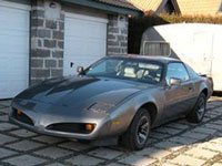 käytetty Pontiac Firebird auton