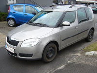 used Skoda Roomster cars