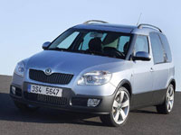 used Skoda Roomster Scout cars