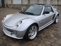 begagnade Smart Roadster bilar