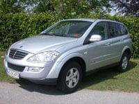 used Ssangyong Kyron cars