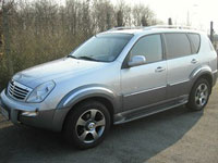 used Ssangyong Rexton cars