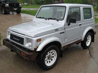 second-hand Suzuki Samurai mașini