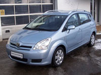 used Toyota Corolla Verso cars