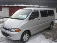 używane Toyota HiAce samochody