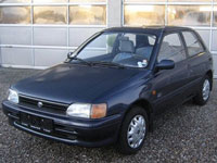 second-hand Toyota Starlet mașini