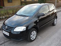 begagnade VW Fox bilar