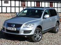 used VW Touareg cars