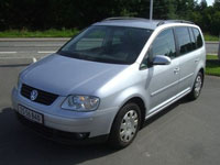 used VW Touran cars