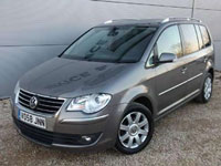 begagnade VW Touran Cross bilar
