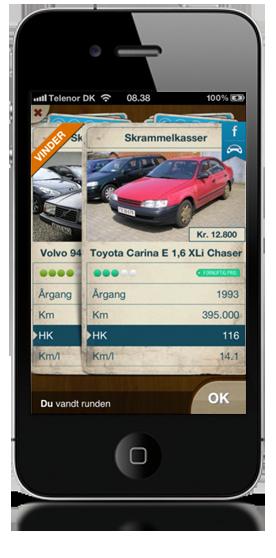 Spil Bilkort med rigtige biler til salg påiPhone - AutoUncle Bilkort
