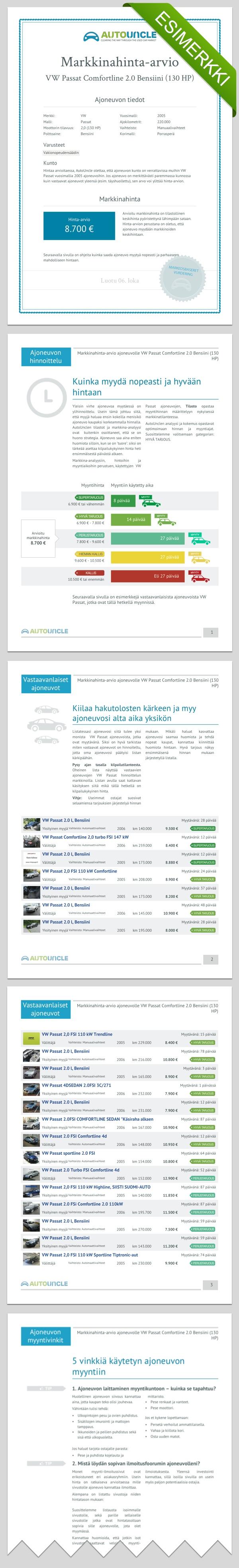 Ilmainen hinta arvio – kuinka paljon ajoneuvosta kannattaa pyytää?